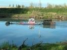 Floating buldozer